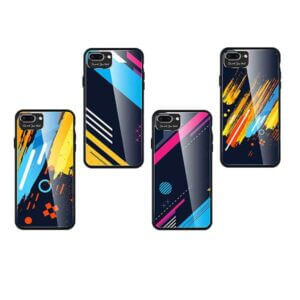 Glass Color Case TD-CGCIPHXR iPhone XR Margine din silicon